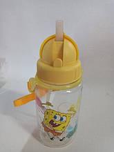 Бутылка для воды Губкабоб 380 мл.