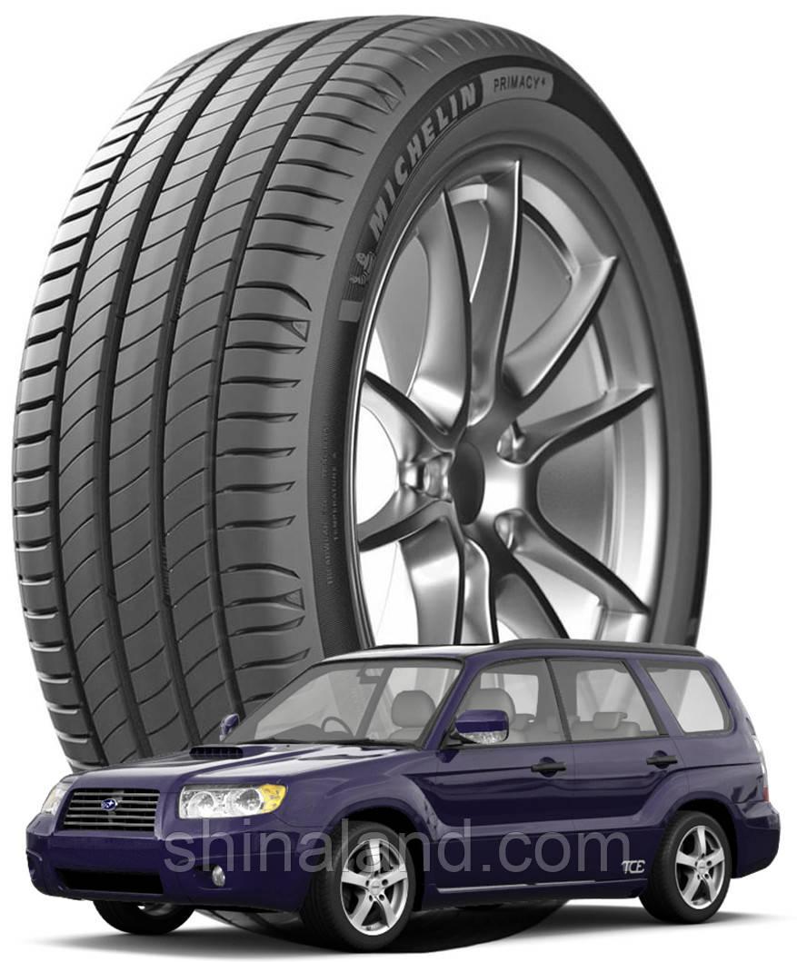 Michelin Primacy 4 215/60 R16 99V XL ( Іспанія 2021) - Шини Subaru Forester I, II 1997 - 2008 (new)