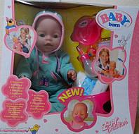 Пупс функциональный baby born