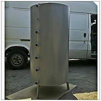 Тепловой аккумулятор: 500 литров, 6 патрубков, регулируемая высота