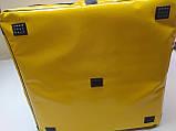 Очень большая термосумка под ящик для доставки еды. ПВХ, на липучках., фото 7