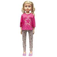 Большая ходячая кукла Сестра, 80 см, в кофте со звездой (sum950140)
