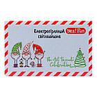 """Електрогірлянда світлодіодна Yes! Fun """"Christmas time"""", 100 ламп, холодно-біла, 5 м., 8 р, фото 2"""