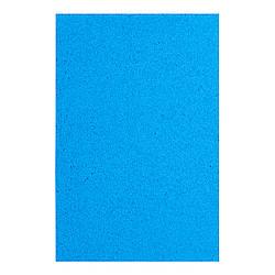 Фоамиран ЭВА голубой махровый, 200*300 мм, толщина 2 мм, 10 листов