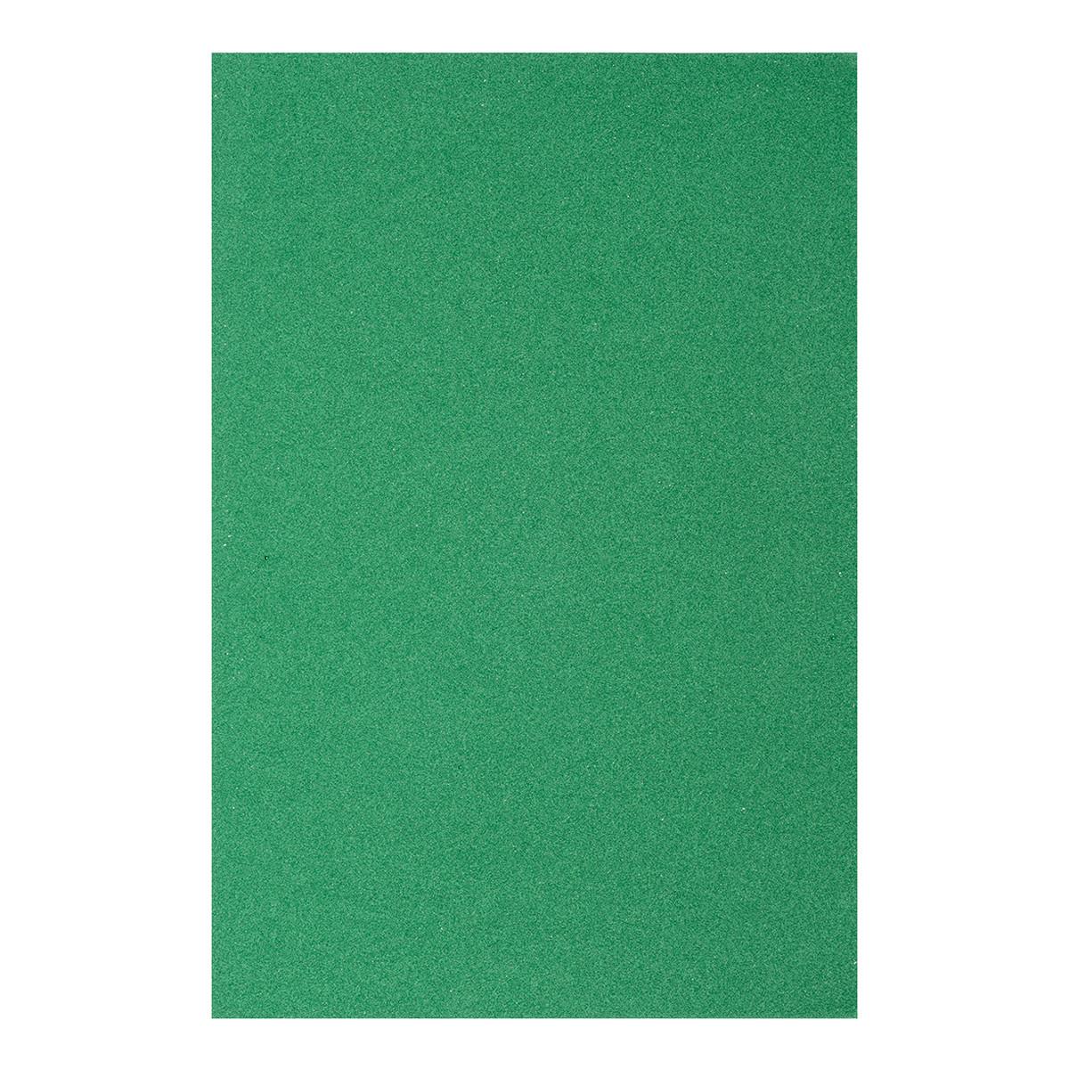 Фоамиран ЕВА зелений, з клейовим шаром, 200*300 мм, товщина 1,7 мм, 10 листів