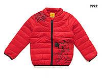 Демисезонная куртка Mickey для мальчика. 130, 140 см