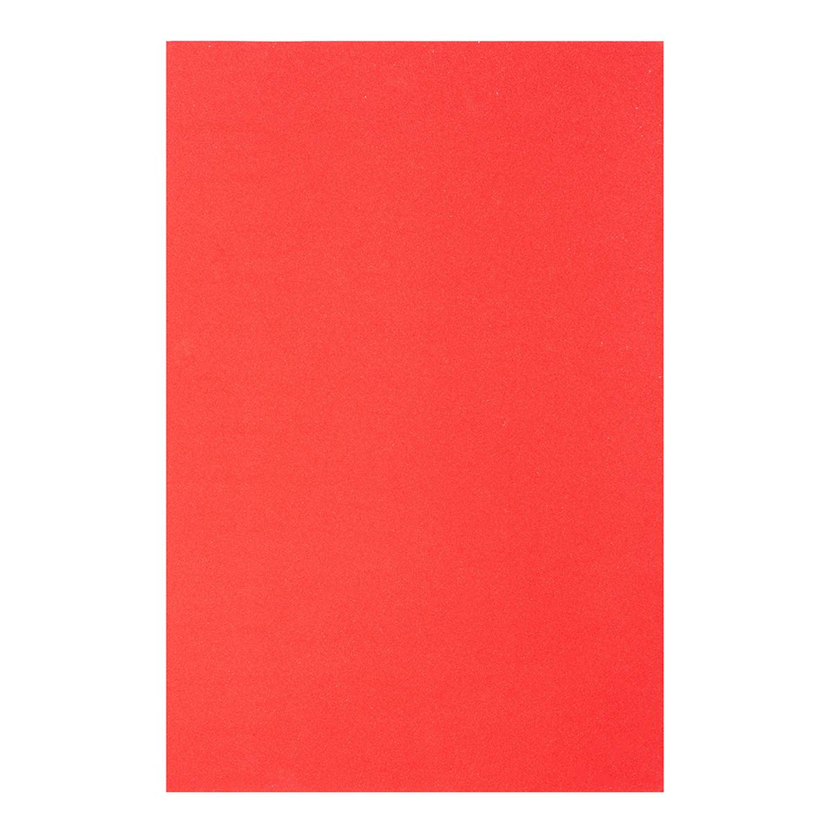 Фоамиран ЕВА червоний, з клейовим шаром, 200*300 мм, товщина 1,7 мм, 10 листів