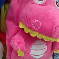 Детский рюкзак игрушка для девочек розовый