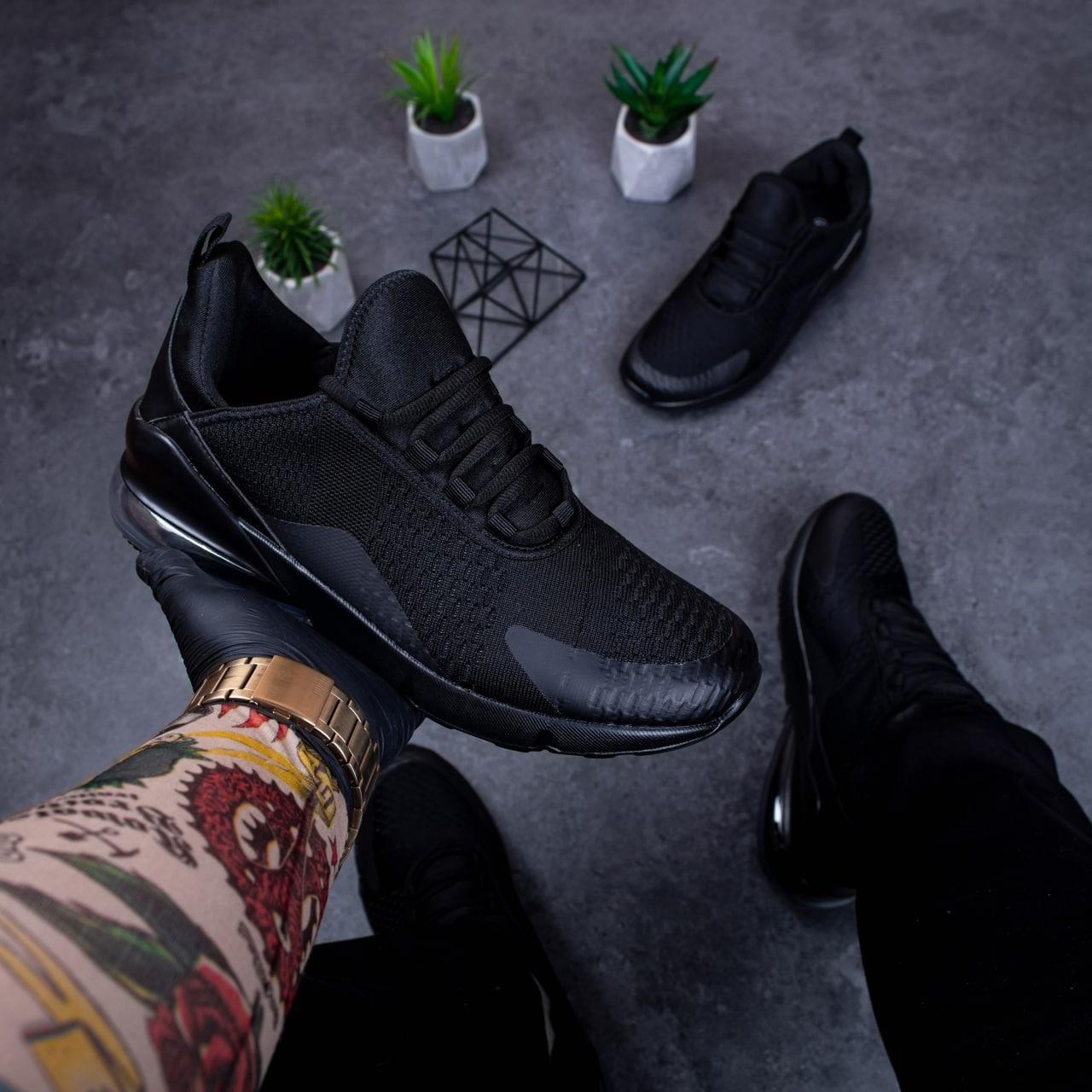 Чоловічі кросівки Крос 270 (чорні)
