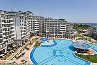50 000 евро - 2-х комнатная квартира с морской панорамой в 5-звездочном к-се Emerald Resort на 1-й линии моря