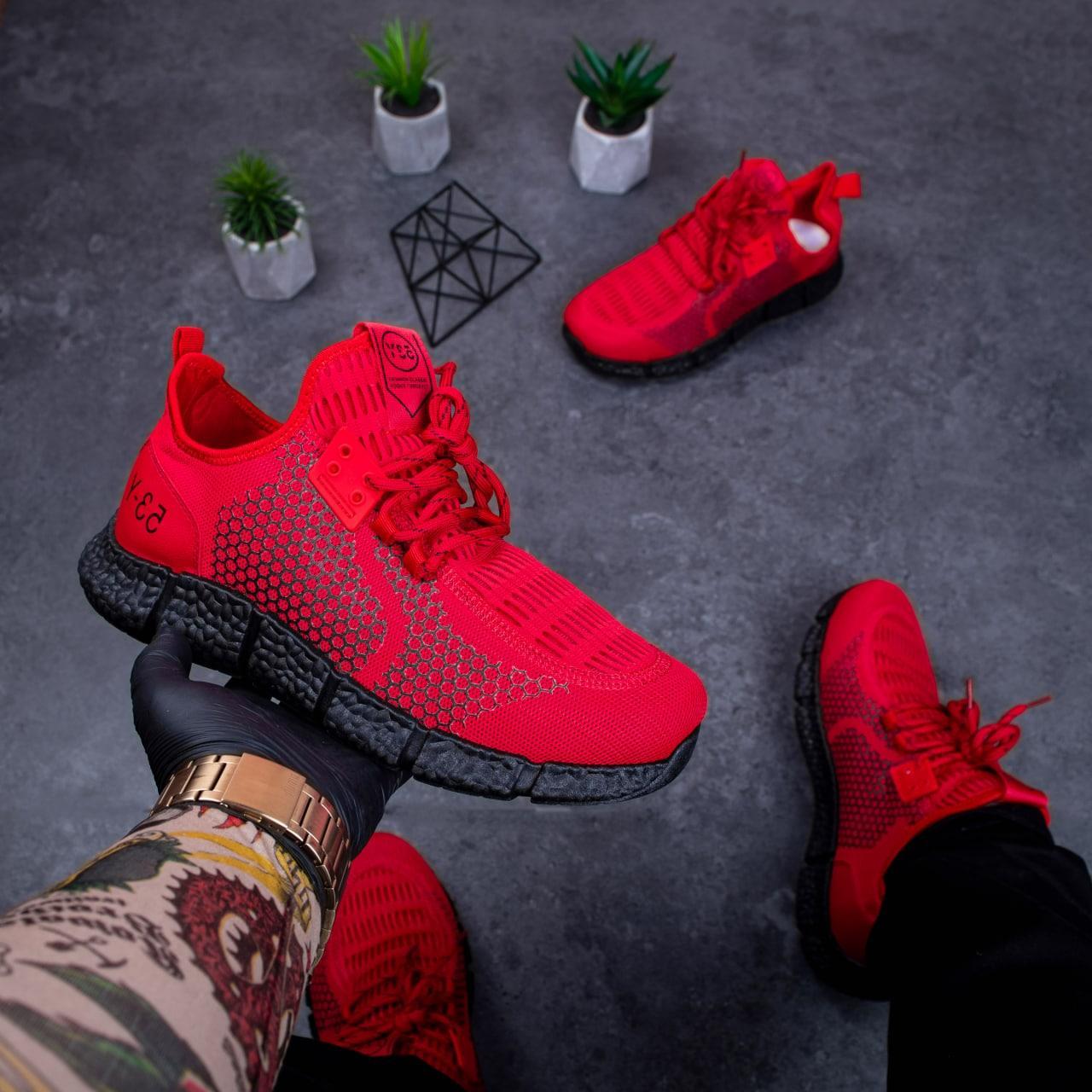Чоловічі кросівки Вервольф (червоні)41, 43 ,44 ,46