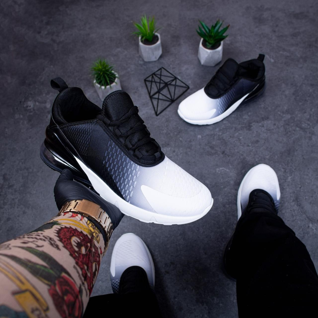 Чоловічі кросівки Монтевід 270 (чорно-білі)