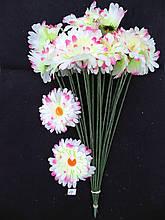 Искусственные цветы Ромашка 20 шт белая