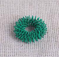 Кольцо су-джок массажное зеленого цвета