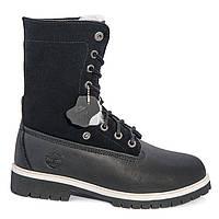 Черные женские ботинки Timberland