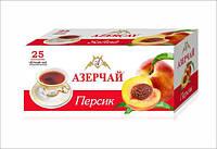Чай черный Азерчай с ароматом персика пакетированный 25 пак