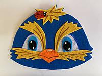 Карнавальная маска на лоб синичка Для сюжетно ролевых игр., фото 1