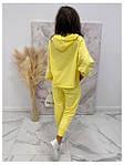 Женский спортивный костюм, турецкая двунить, р-р 42-44; 44-46 (жёлтый), фото 3
