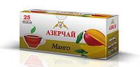 Чай черный Азерчай с ароматом манго пакетированный 25 пак