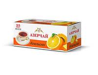 Чай черный Азерчай с ароматом апельсина пакетированный 25 пак