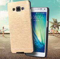 Чехол металлический для Samsung A500H Galaxy A5 Золотой