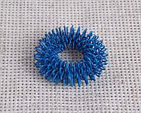 Кольцо су-джок массажное синего цвета