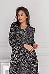 Женское платье, евро - софт, р-р 42-44; 46-48; 50-52; 54-56 (чёрный), фото 4