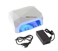 LED+CCFL Лампа гибридная, 36 Вт, белая, сенсорная, таймер