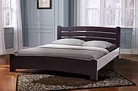 """Ліжко """"Софія"""" (Ясен)""""Під матрац: 1600*2000  висота узголів'я 820 мм""""венге"""