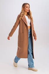 Пальто женское демисезонное шерстяное, миди, Мариз | 42, 44, 46, 48 размеры