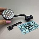 Дзеркало заднього виду для велосипеда з підсвічуванням, фото 3