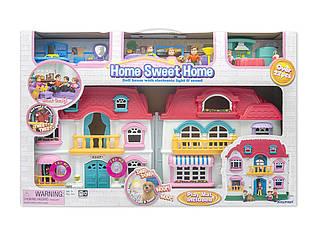 Игровой набор Keenway Кукольный Дом, милый дом со звуком и подсветкой