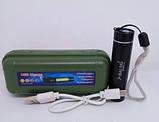 Фонарь Bailong BL 517 COB usb charge ручной, фото 2