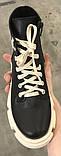 Dr. Martens 33 ! Женские демисезонные кожаные ботинки на шнуровке с толстой массивной светлой подошвой, фото 3