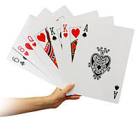 Игральные карты Супер Гигант (280х210)