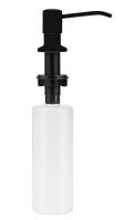 Дозатор для мила Invena Simi чорний AA-22-004