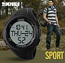 Часы наручные фитнес-трекер Skmei 1122, черные, в металлическом боксе, фото 9