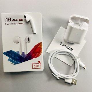 Бездротові сенсорні навушники TWS i16 max