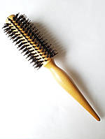 Брашинг деревянный с комбинированной щетиной Salon professional