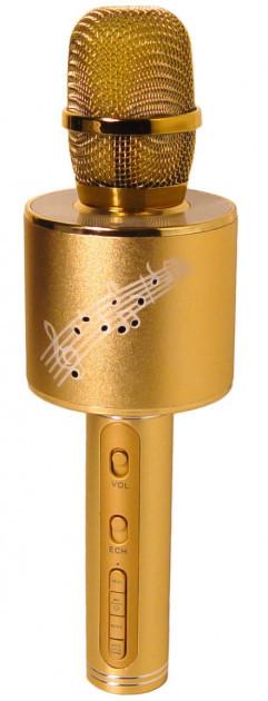 Караоке-мікрофон портативний DM YS-66 5548, золотий