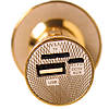 Караоке-мікрофон портативний DM YS-66 5548, золотий, фото 3
