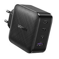 Зарядное устройство Ugreen GaN 65W 4 USB PD QC3.0 QC4.0 FCP 3C1A (CD224)