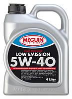 Синтетическое моторное масло  Meguin Low Emission 5w-40 4L