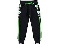 Трикотажные спортивные штаны для девочек. 9-12 лет  Турция