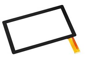 """Оригинальный Сенсор (Тачскрин) для планшета 7"""" Irulu Expro X1A   Babypad Y1   Expro 3 30pin(186x111mm)(Черный)"""