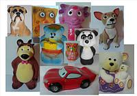 Копилки Детские: Животные и Мульт.Герои