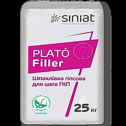 Гипсовая шпаклевка Plato Filler 25кг Siniat