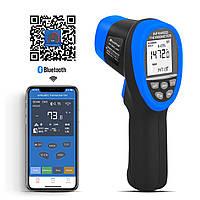 Пірометр HoldPeak HP-985C-APP (-50 ° с до +800 ° с) DS:16:1; EMS:0,1-1,00. Bluetooth, фото 1