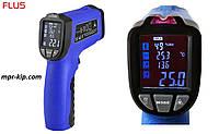 Пірометр Flus IR-818 (-50 ° с до +750 ° с) з термопарою К-типу, виміру вологості й температури повітря, DEW, фото 1