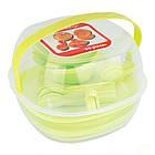 Столовий набір посуду для пікніка Bita 36 предметів на 4 персони, фото 5